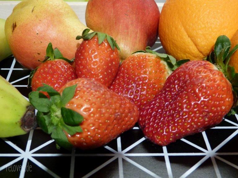 Birne Erdbeere