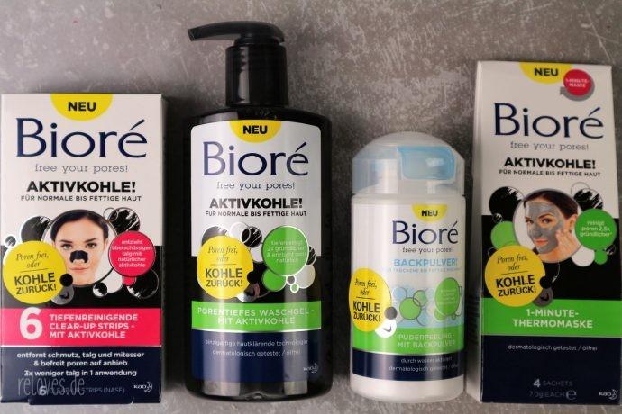 Neue Bioré Produkte
