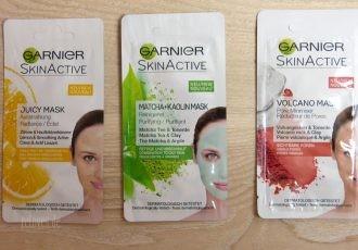 Garnier SkinActive Masken