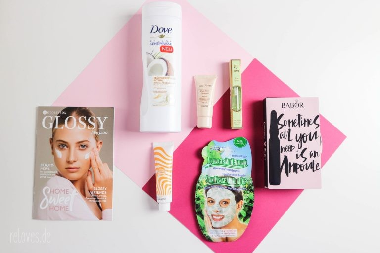 Glossybox Home Sweet Home Edition Oktober