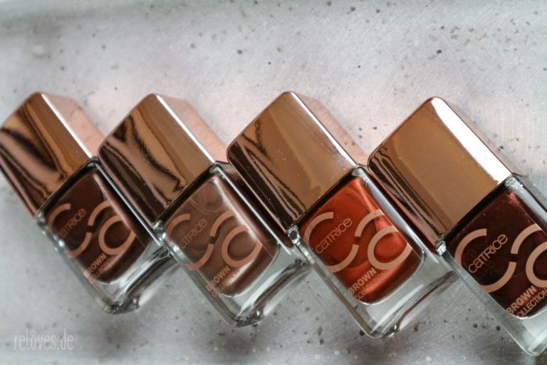 Catrice Brown Collection Nail Lacquer