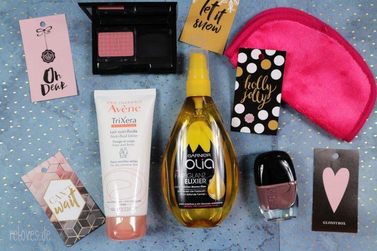 alle Produkte aus der Dear Santa Glossybox November