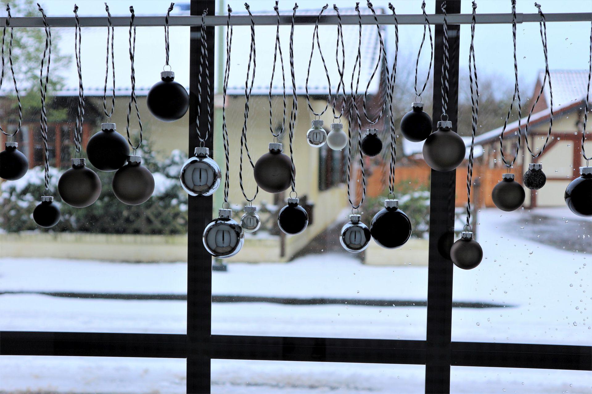 dekoriertes Fenster