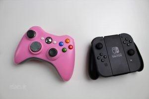 XBOX 360 Controller vs. Nintendo Switch Controller
