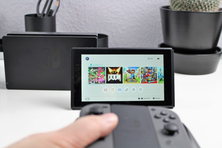 Nintendo Switch Tisch-Modus