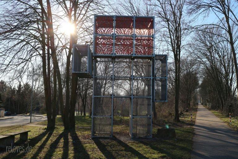 Eingang zum Römerpark in Aldenhoven