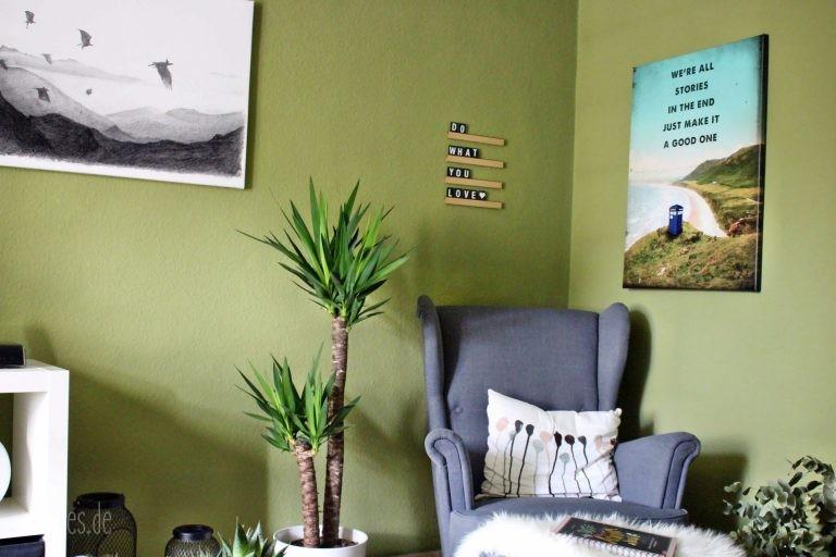 Wohnzimmerumgestaltung mit Posterlounge