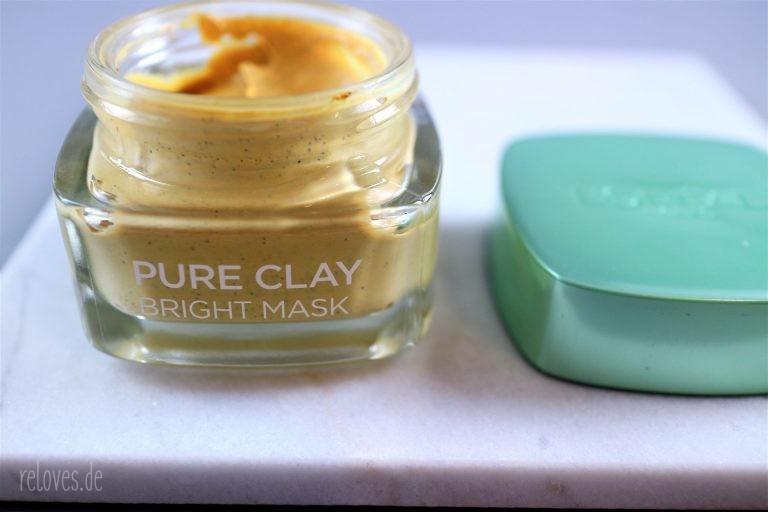L´Oréal Tonerde Glow Maske