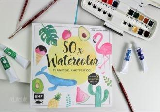 50x Watercolor EMF Verlag
