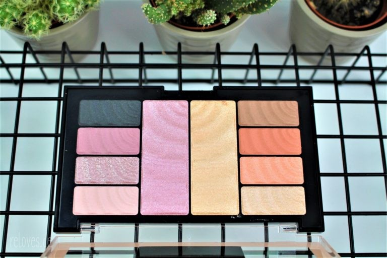 Total Temptation Lidschatten und Highlighter Palette