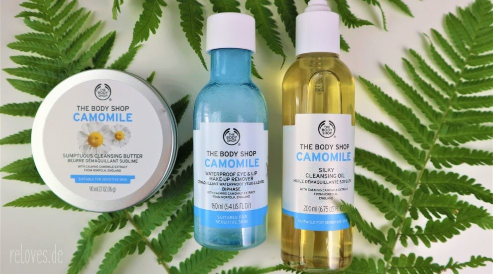 The Body Shop Camomille Reinigungsserie