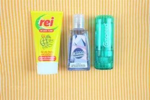 Kosmetik für den Jakobsweg