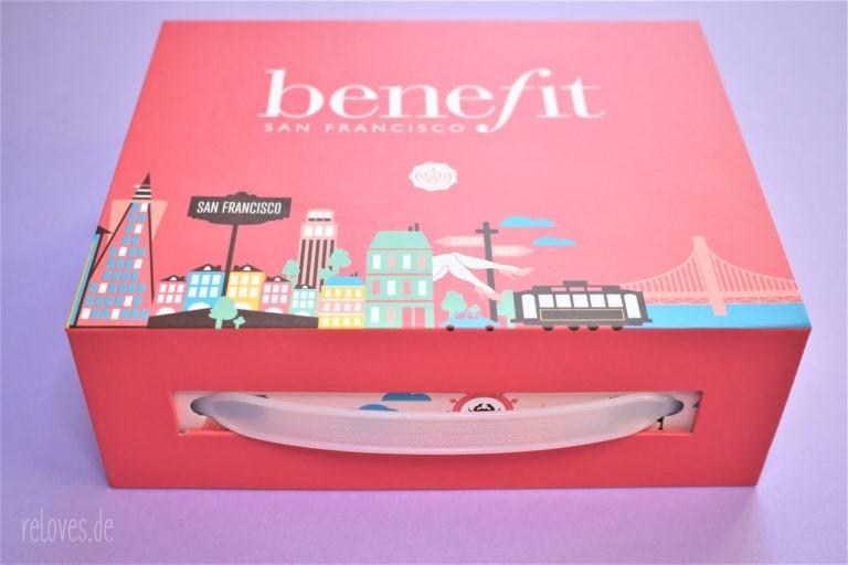 Die Box der Glossybox benefit Special Edition