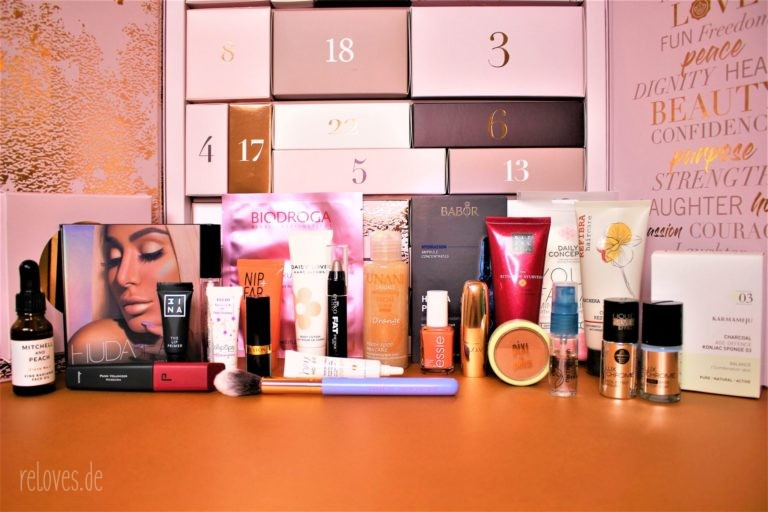 Inhalt Glossybox Adventskalender 2018
