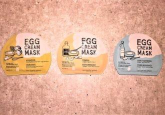 too cool for school Egg Cream Tuchmaske