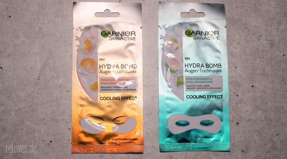 Garnier Hydra Bomb Augentuch Maske