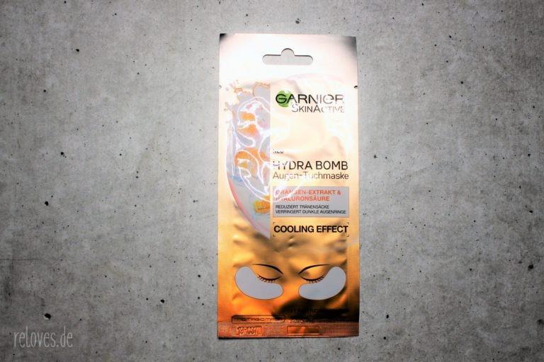 Garnier Hydra Bomb Augentuch Maske mit Orangenextrakt