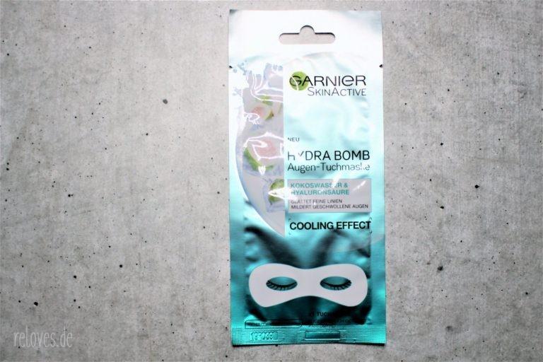 Garnier Hydra Bomb Augentuch Maske mit Kokoswasser