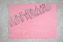 Handlettering Workshops by reloves.de