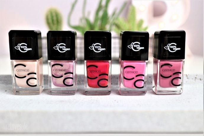 neue Farben der Iconails Serie von Catrice