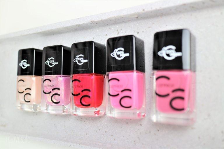 neue Farben der Iconnails Serie von Catrice