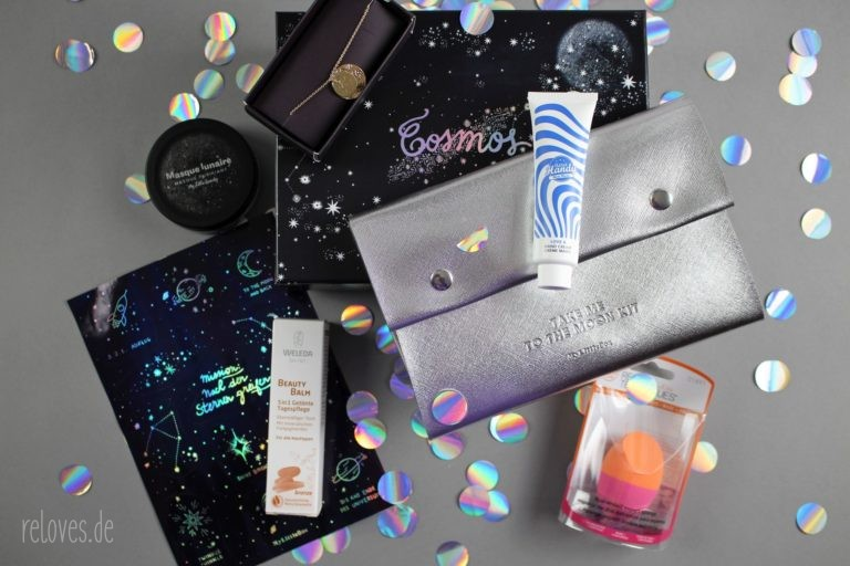 Die Produkte der My Little Box Februar - Cosmos Edition