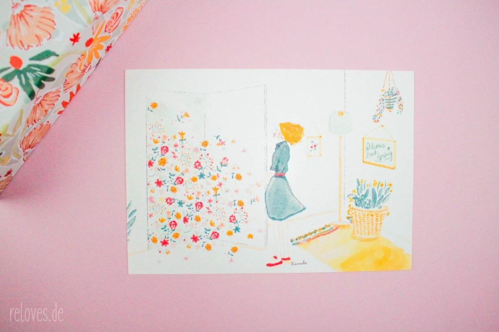 Illustration My Little Box April
