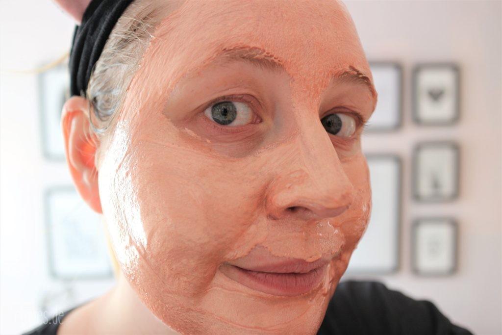 MasqueBar Rose Gold Foil Maske