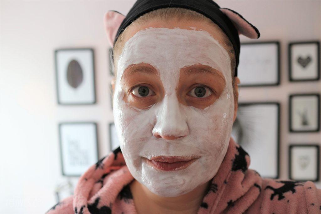 MasqueBar Silver Foil Maske