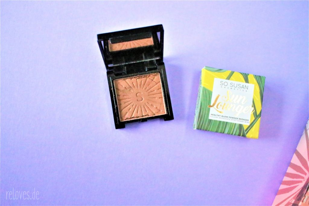 So Susan Cosmetics SUN LOUNGER – HEALTHY-GLOW POWDER BRONZER