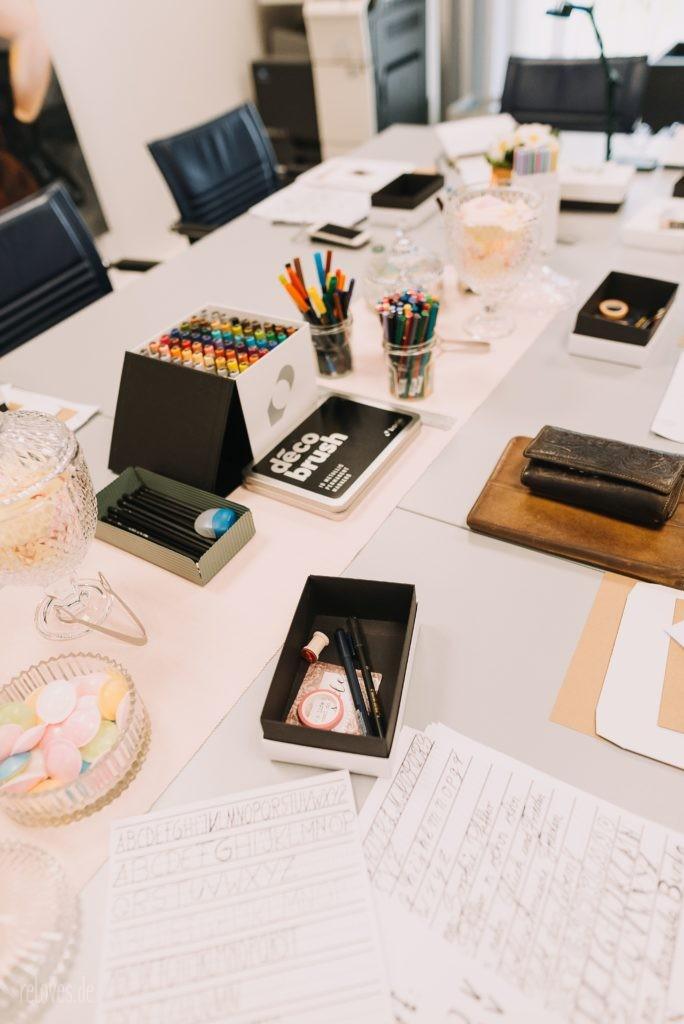 Handlettering und Brushlettering Workshop Bedburg