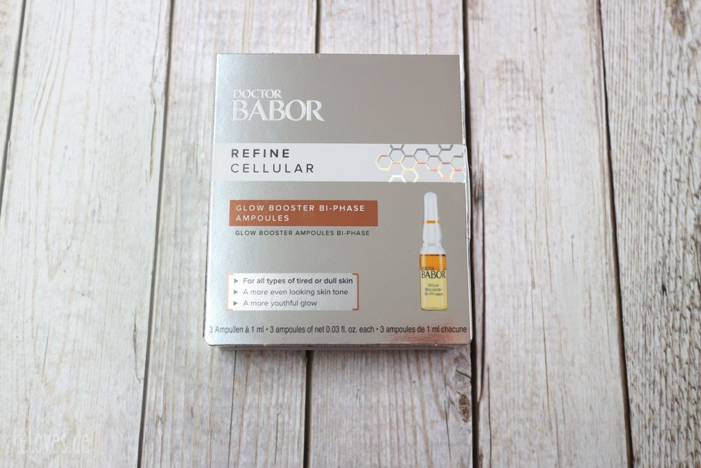 Babor GLOW BOOSTER BI-PHASE AMPOULES