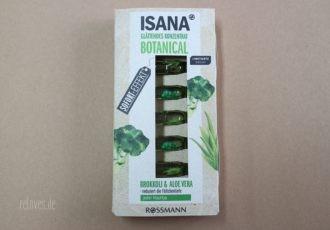 ISANA Botanical Ampullen Kur Brokkoli und Aloe Vera