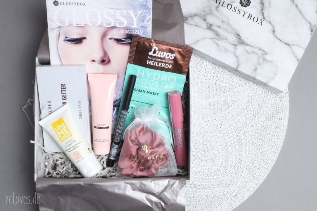 Glossybox Dezember - Marbellous Winter Beauty Edition