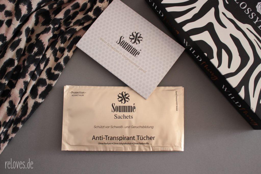 Soummé - ANTI-TRANSPIRANT TÜCHER