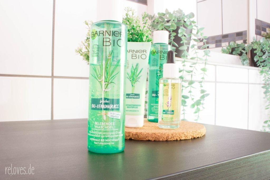 Garnier Bio - Belebendes Waschgel mit Bio-Lemongrass