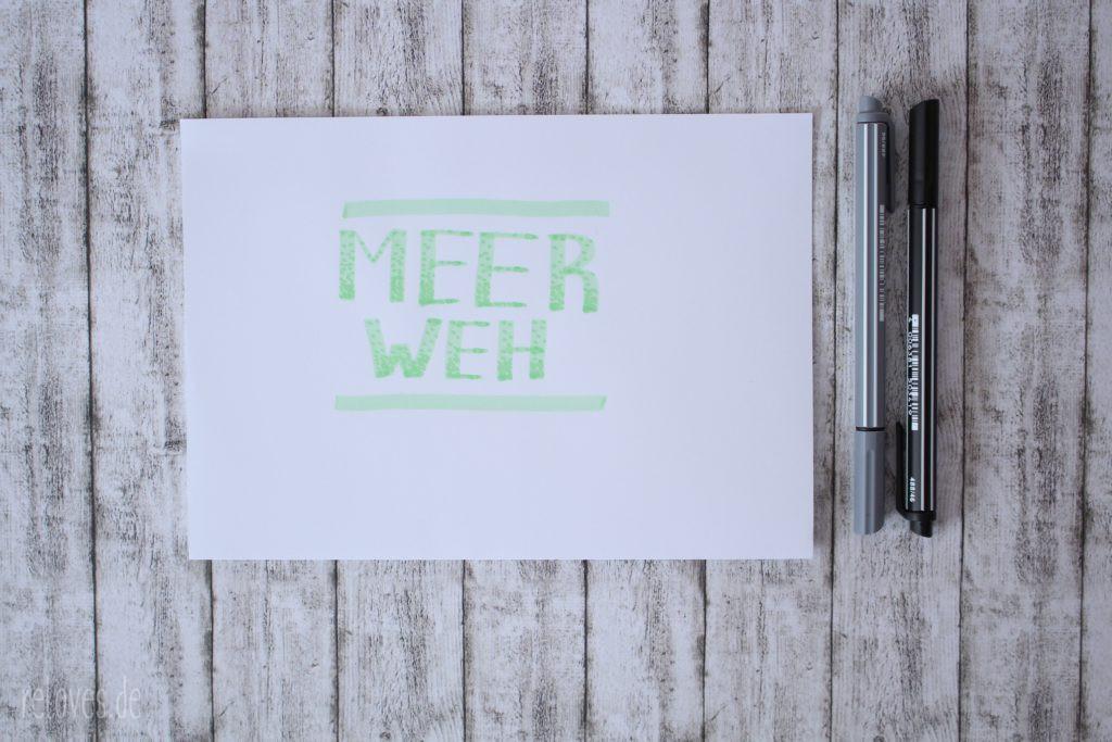 44 Hand Lettering Alphabete