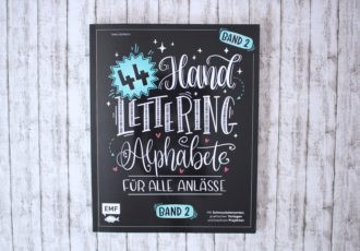 44 Hand Lettering Alphabete Band 2