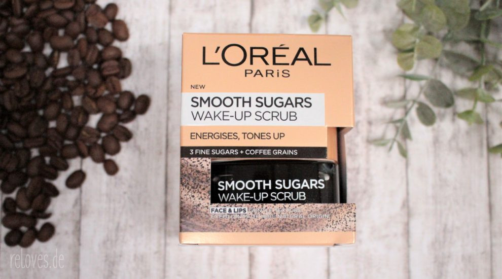 LOreal Sugar Scrub Wake Up Peeling