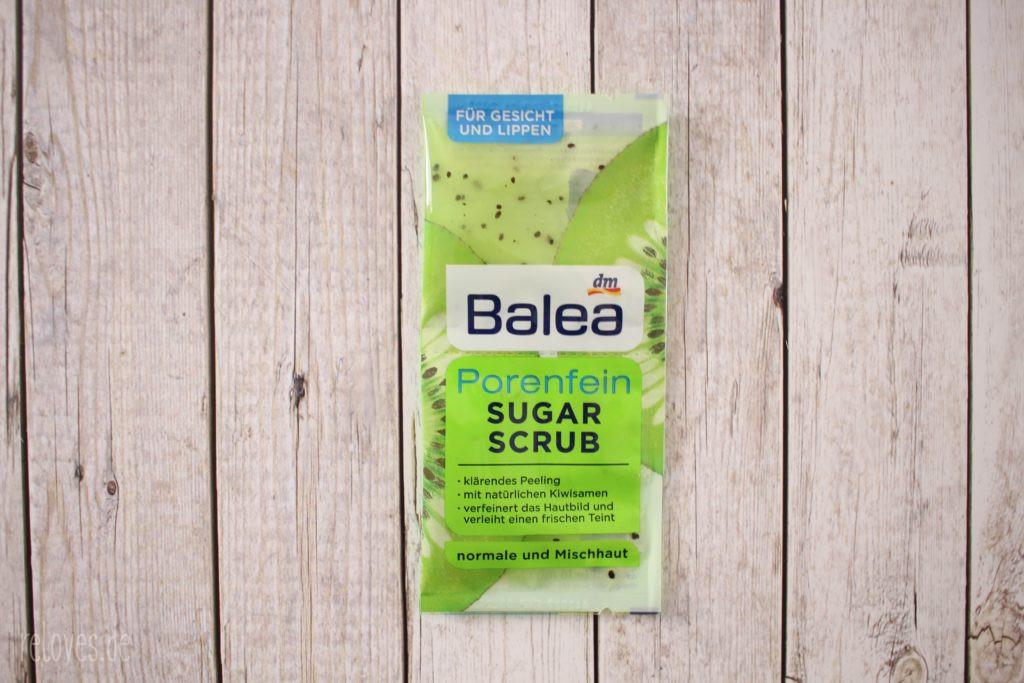 Balea Sugar Scrub Porenfein