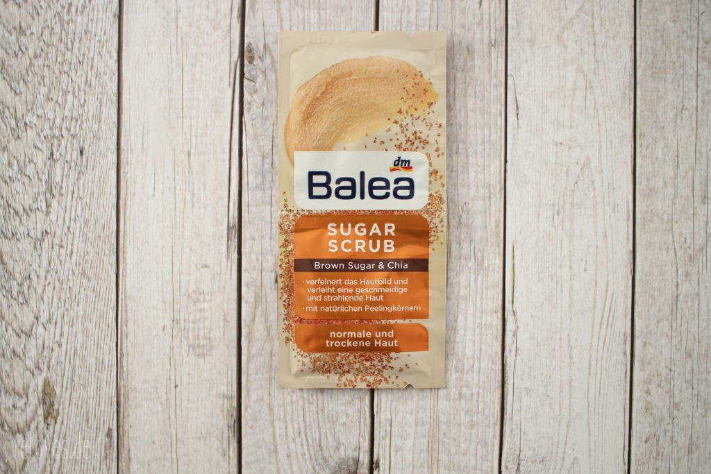 Balea Sugar Scrub Brown Sugar Chia
